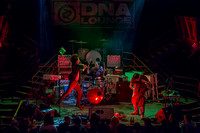The Glowing Stars, crashfaster, Judgement Day, & The Phenomenauts @ DNA Lounge, November 8, 2012