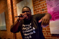 Danimal Cannon, Mega Ran, Boboso, DJ Mr Smith @ Cafe Stritch 7-17-2013
