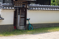 Traditional Japanese unicycle