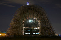 Moffett Field Hangars by Night